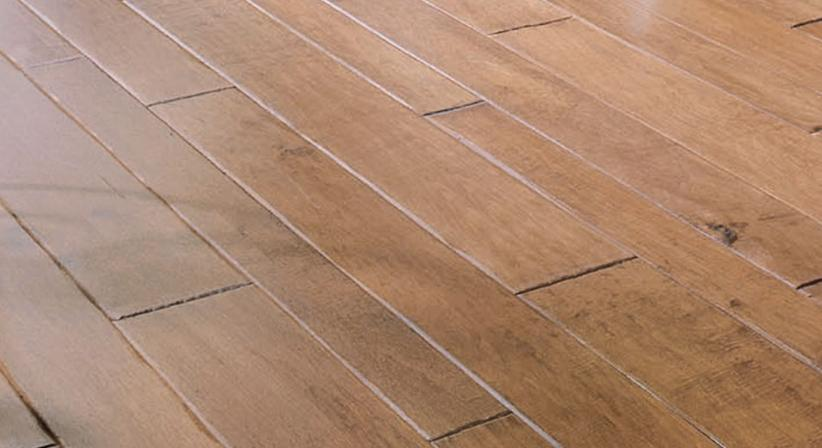 Different colors of hardwood floors good two tone for Different width hardwood flooring